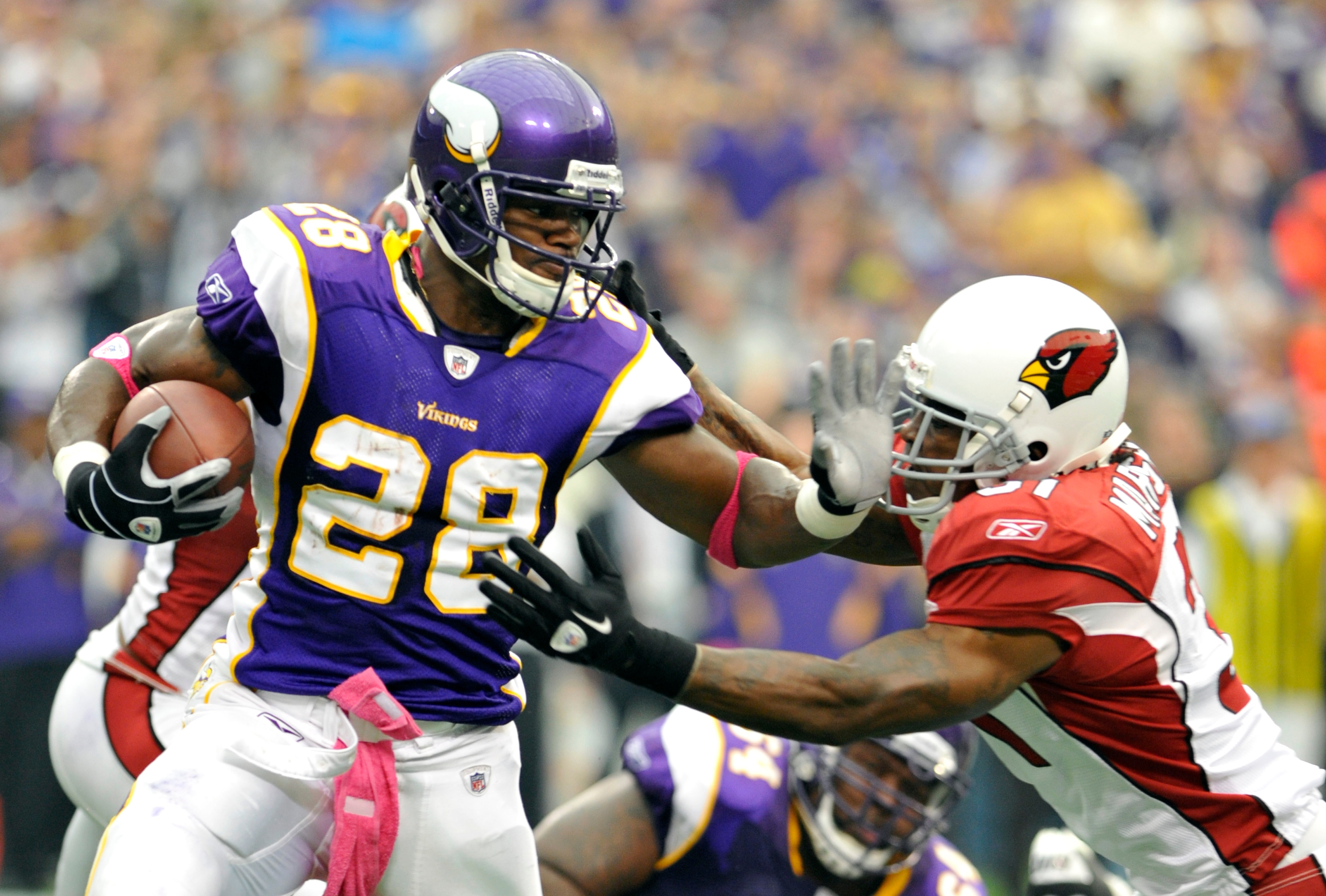 Adrian Peterson Names Five Teams He Would Restructure