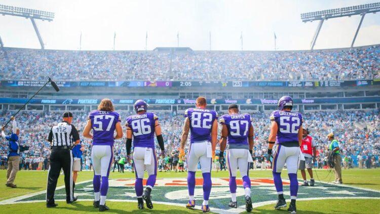 Vikings at Carolina
